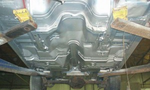 automotive undercarriage rust protection