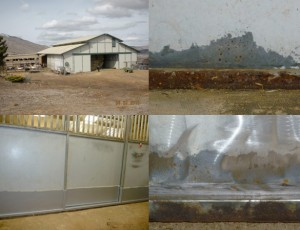 Barn Rust Proofing