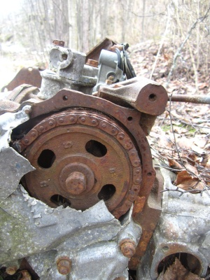 rust damage