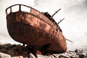 Rustproofing boats
