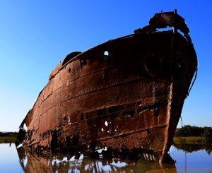 Rustproofing ships